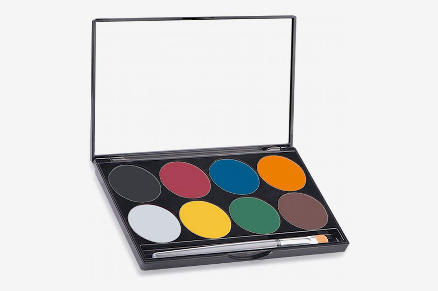 mehron makeup paradise aq face body paint 8 color palette