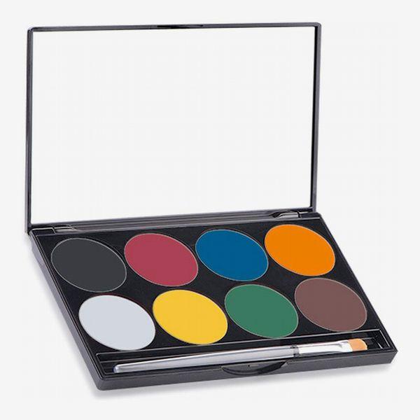 Mehron Makeup Paradise AQ Face & Body Paint 8-Color Palette