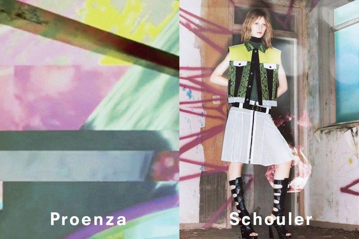 Proenza Schouler spring 2013, by David Sims.