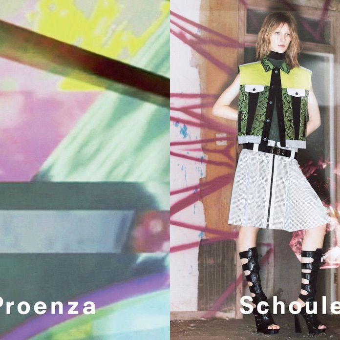 Proenza Schouler spring 2013, by David Sims.
