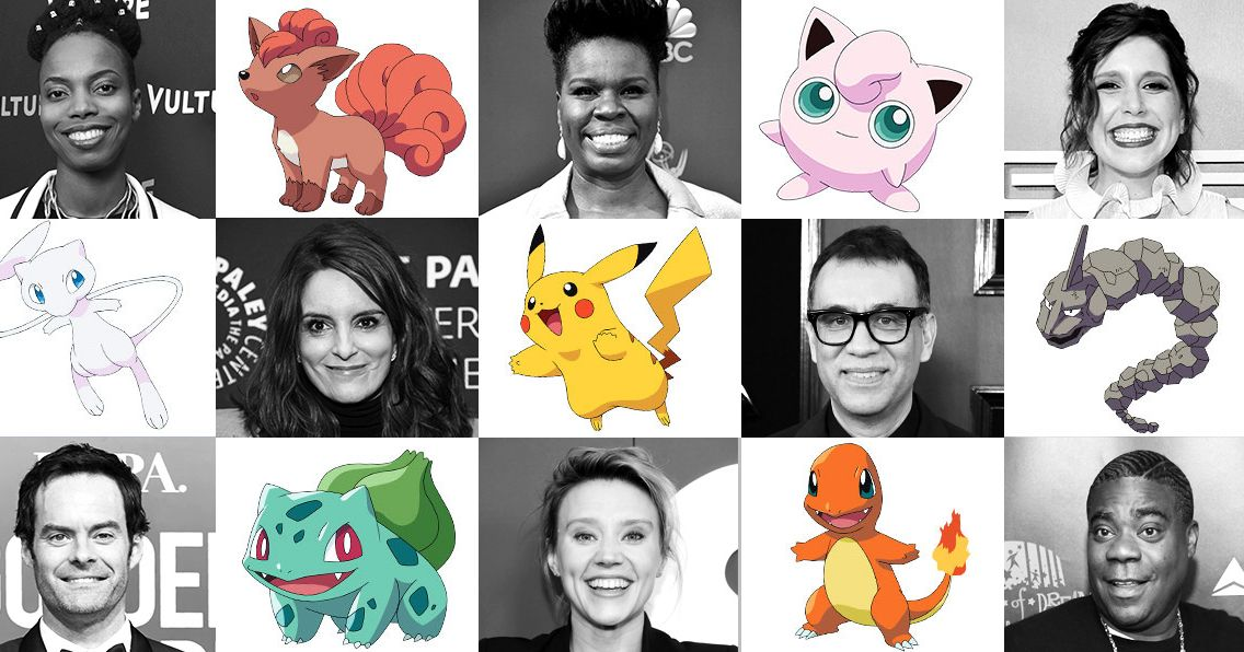 All 151 Pokémon Characters As 151 'SNL' Cast Members