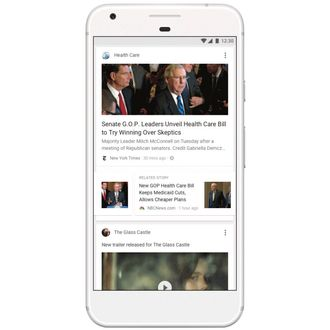 The Trouble With Google's New News Feed