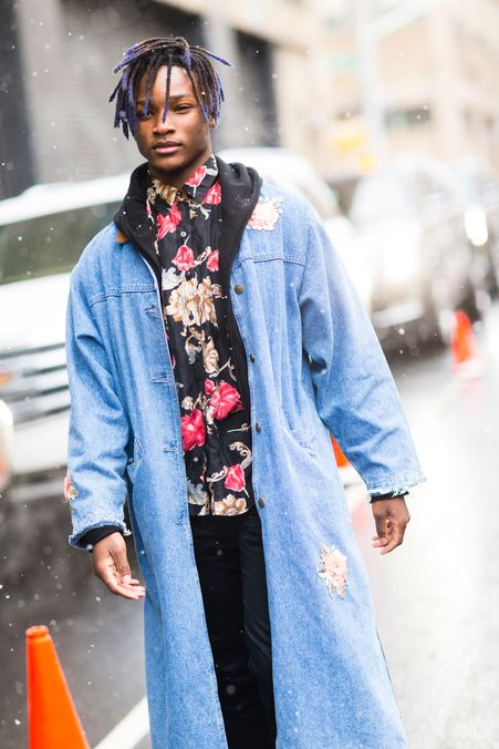 Joseph Frederick Oxley The Best Street Style From New York Fashion Week Men 39 S The Cut
