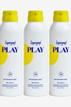 Supergoop! Full Size Play Antioxidant Body Mist SPF 50 Sunscreen