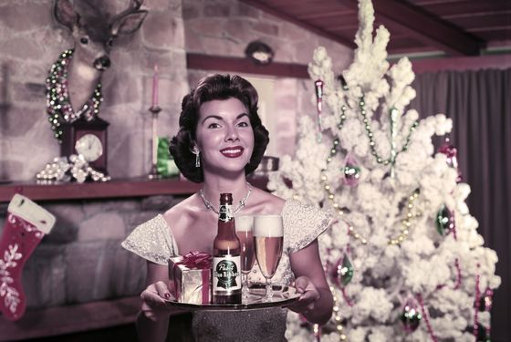 The best moms have your beer waiting when you get home.