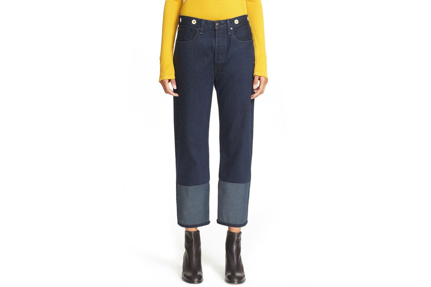 Rag & Bone RBW16 High Rise Crop Jeans