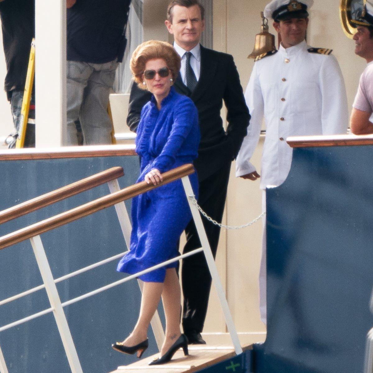 The Crown Season 4 Photo Gillian Anderson Margaret Thatcher