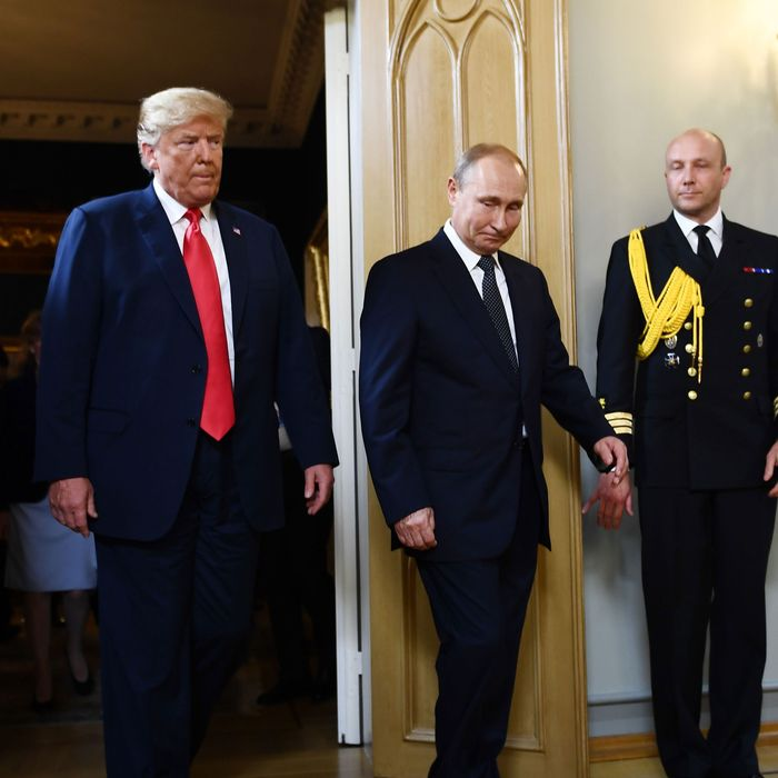 Report Putin Is Stoking Trumps Deep State Fever Dream
