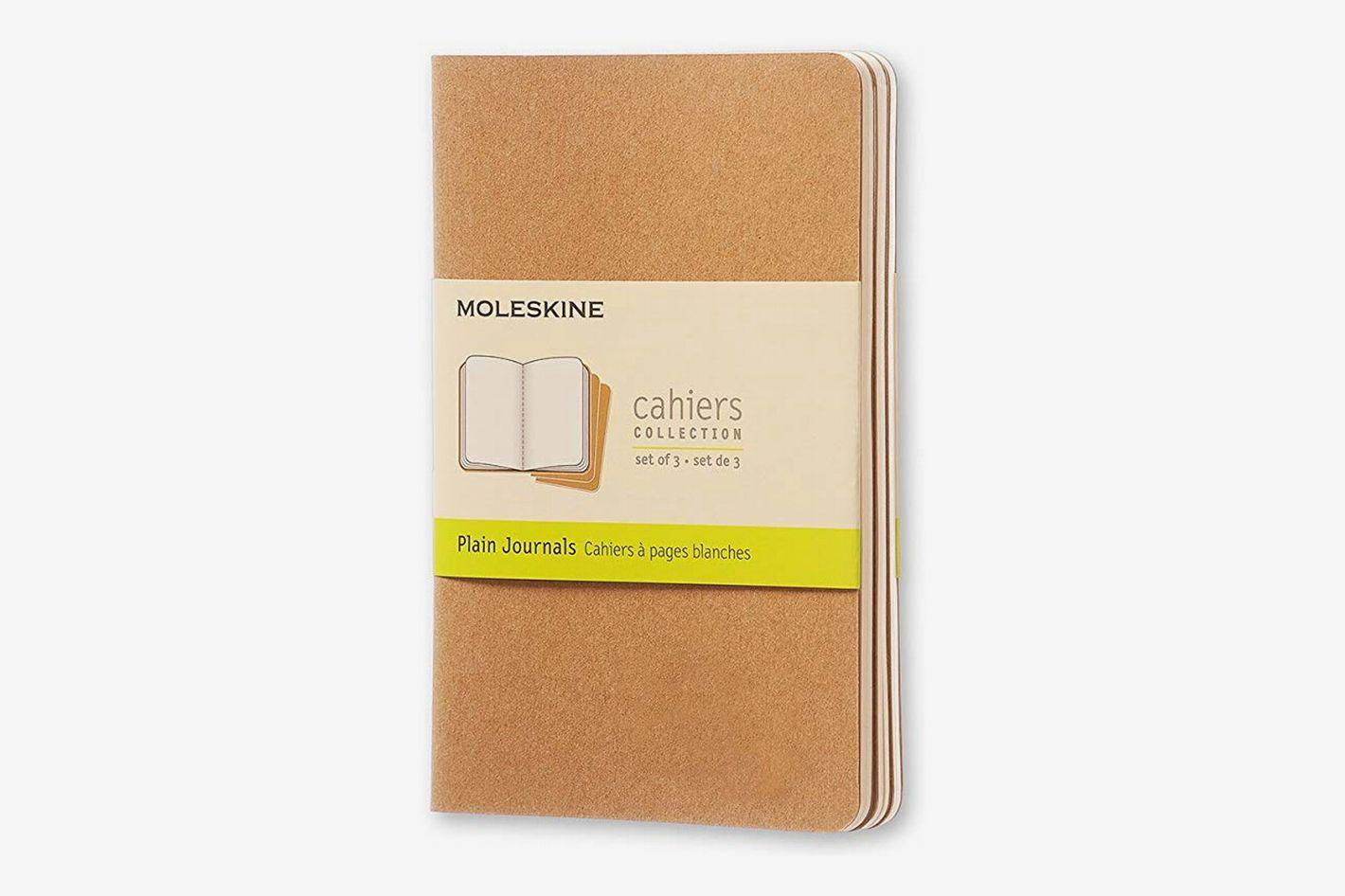Moleskine Cahier Soft Cover Journal, Set of 3