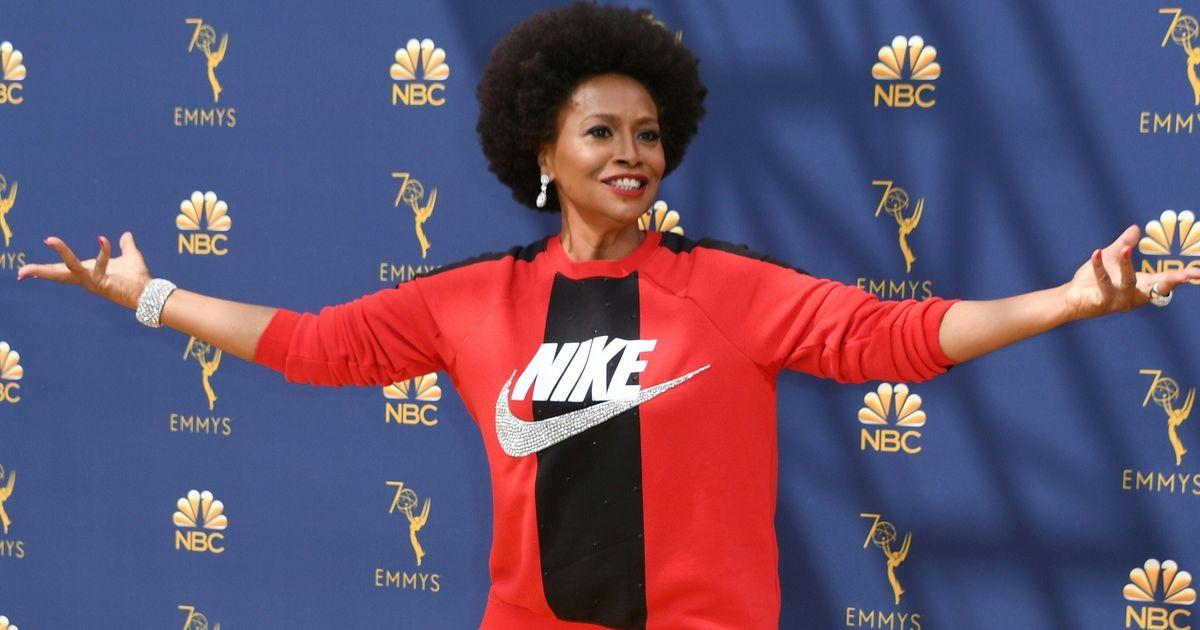 4e4b5529a1c4e Emmys 2018 Red Carpet: Black-ish's Jenifer Lewis in All Nike