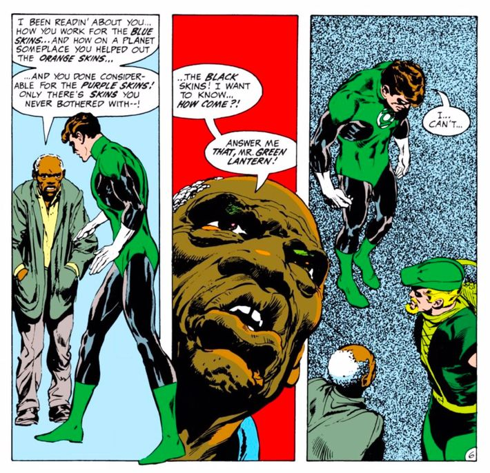 Green Lantern No. 76 Was the Moment Superheroes Got Woke