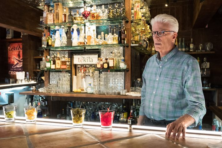 The good place season 2 finale ted danson cheers bar scene share ccuart Gallery