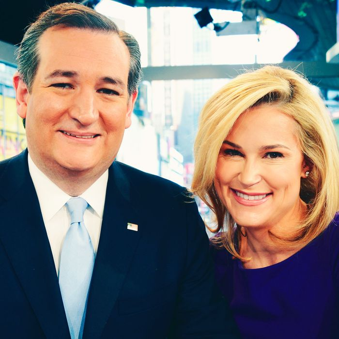 Ted and Heidi Cruz.