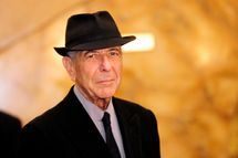"""Canadian singer Leonard Cohen arrives at the Jovellanos Theatre for the concert """"A Tribute to Leonard Cohen"""" in Gijon, on October 19, 2011. Cohen will receive the Prince of Asturias Award for Letters from Spain's Crown Prince Felipe during a ceremony on October 21, 2011 in Oviedo.  AFP PHOTO / JAVIER SORIANO (Photo credit should read JAVIER SORIANO/AFP/Getty Images)"""