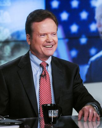 MEET THE PRESS -- Pictured: (l-r) – Fmr. Sen. Jim Webb (D-VA) appears on