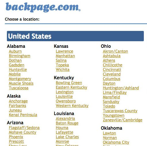 Backpage sandusky ohio