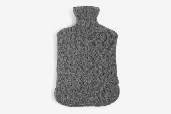 Harrison Hot Water Bottle, Grey Marl