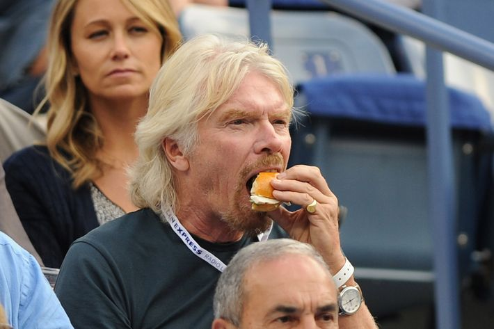 Richard Branson is into it.