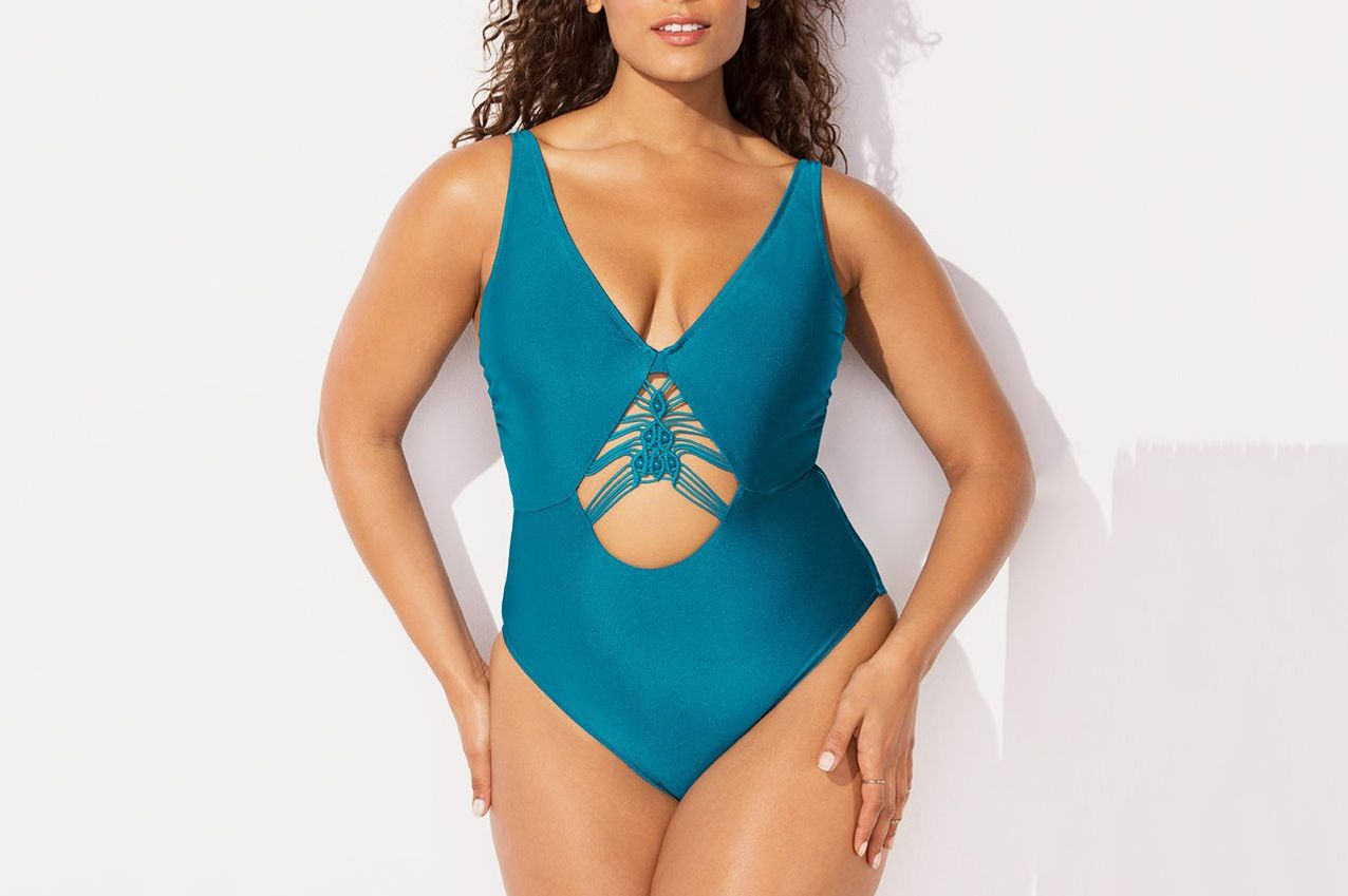 e722d1f1d5a Ashley Graham X Swimsuits for All Meknes Underwire Swimsuit