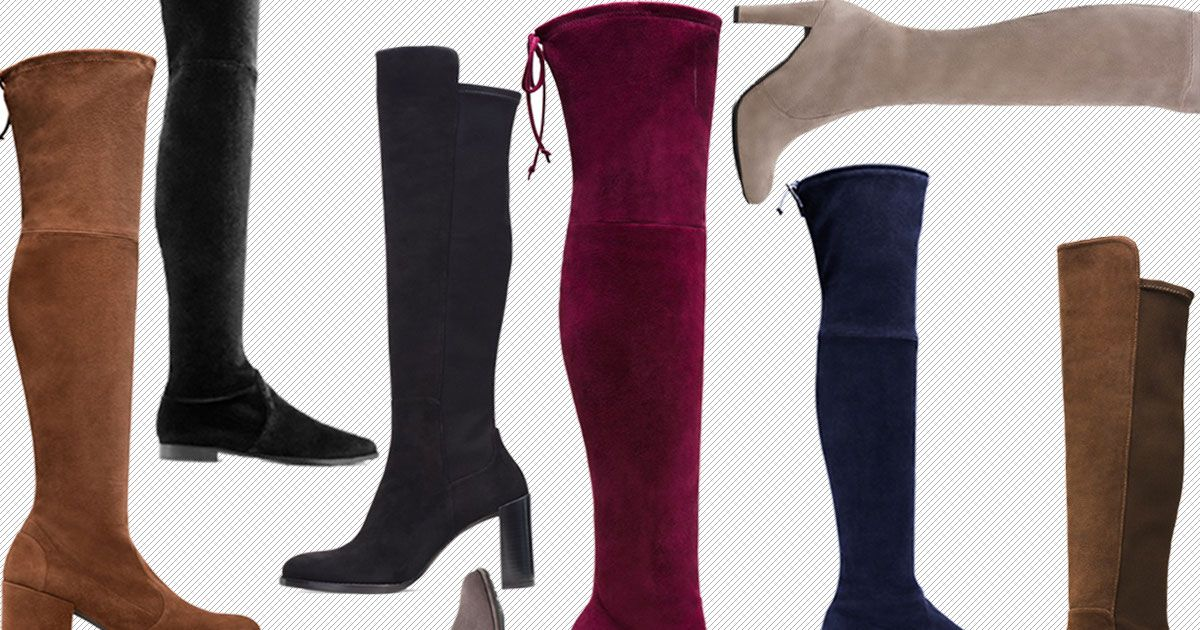 Six Pairs of Over-the-Knee Boots to Buy