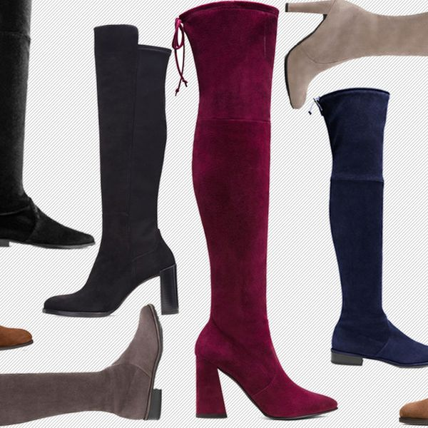 6 Pairs of Over-the-Knee Boots to Buy From Stuart Weitzman's Fall Collection