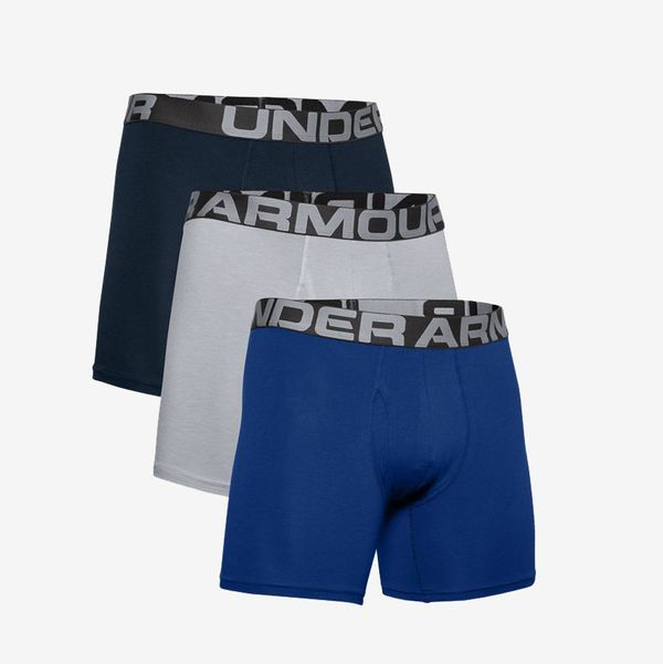 Under Armour Men's Charged Cotton 6-Inch Boxerjock, 3-Pack