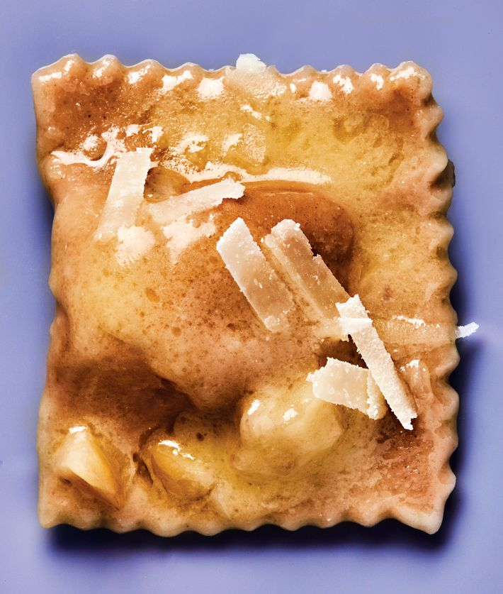 I Sodi Excels At Pasta Like This Chestnut Tortelli Photo Bobby Doherty New York Magazine