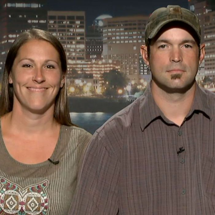 Owners Melissa and Aaron Klein.