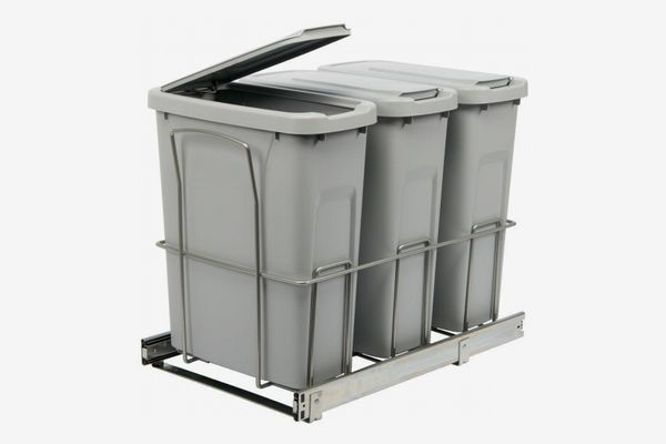 Home Depot Triple Pull-Out Trashcan