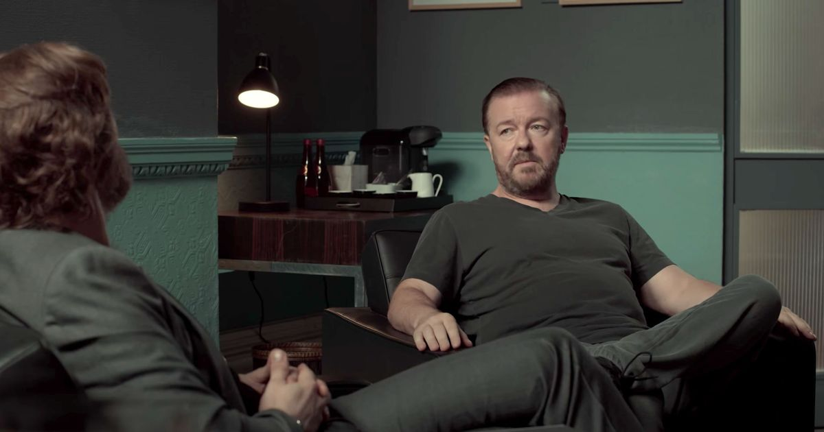 Watch the Trailer for Ricky Gervais Netflix Show After Life |Ricky Gervais Movies