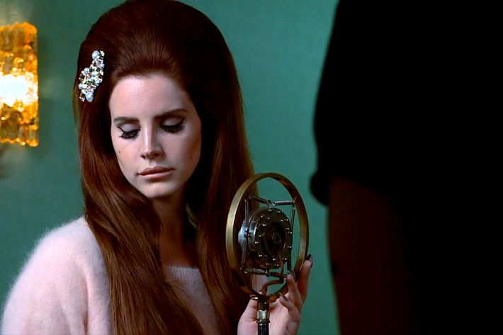 Lana Del Rey for H&M.