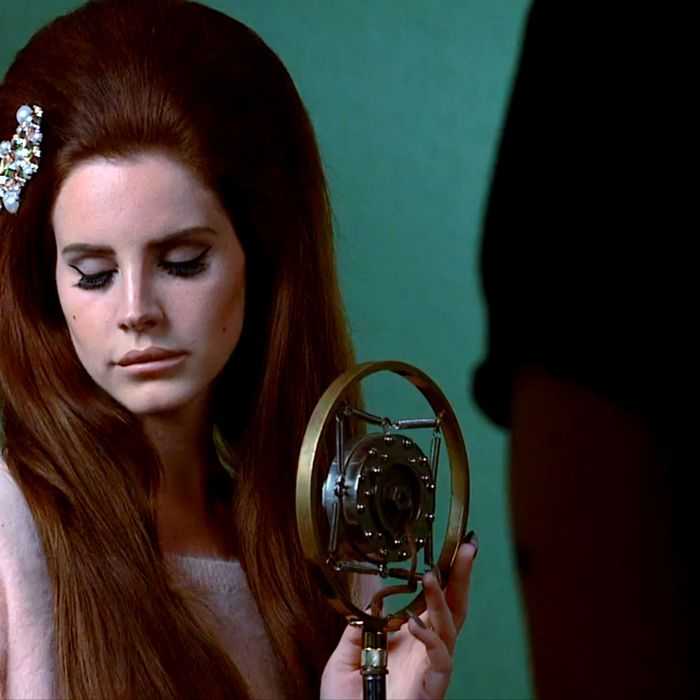 Lana Del Rey for H&M.