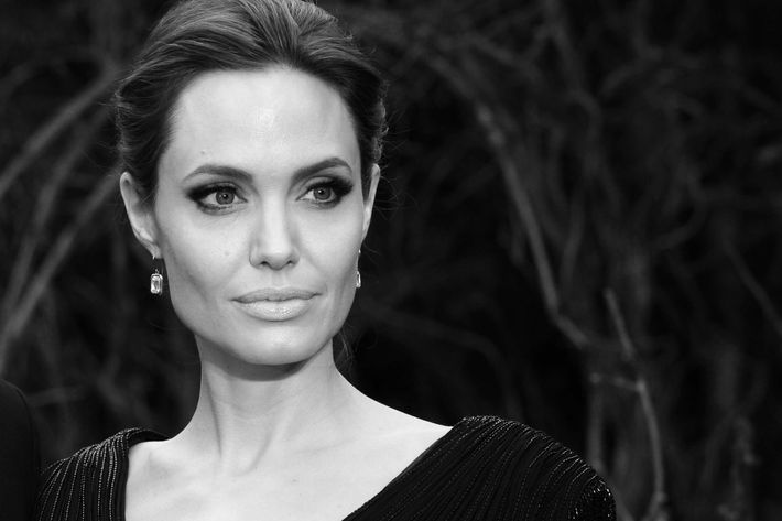 Angelina Jolie attends a charity event at Kensington Palace on May 8, 2014 in London.