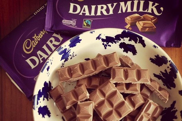 Two Cadbury products were recalled.