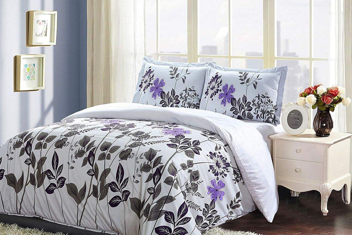 Utopia Bedding Printed Duvet Cover Set