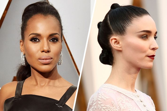 Why do beach waves when you could look like Kerry Washington or Rooney Mara?