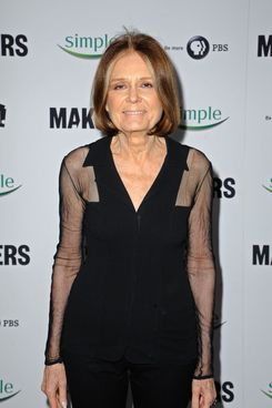 """Gloria Steinem arrives at """"MAKERS: Women Who Make America"""" New York Premiere at Alice Tully Hall on February 6, 2013 in New York City."""