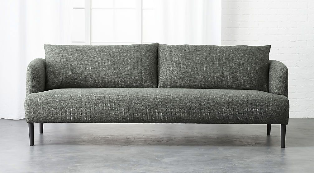 Cb2 Ronan Grey Sofa
