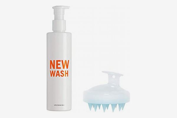 New Wash Hair Cleanser 8-oz + In-Shower Brush