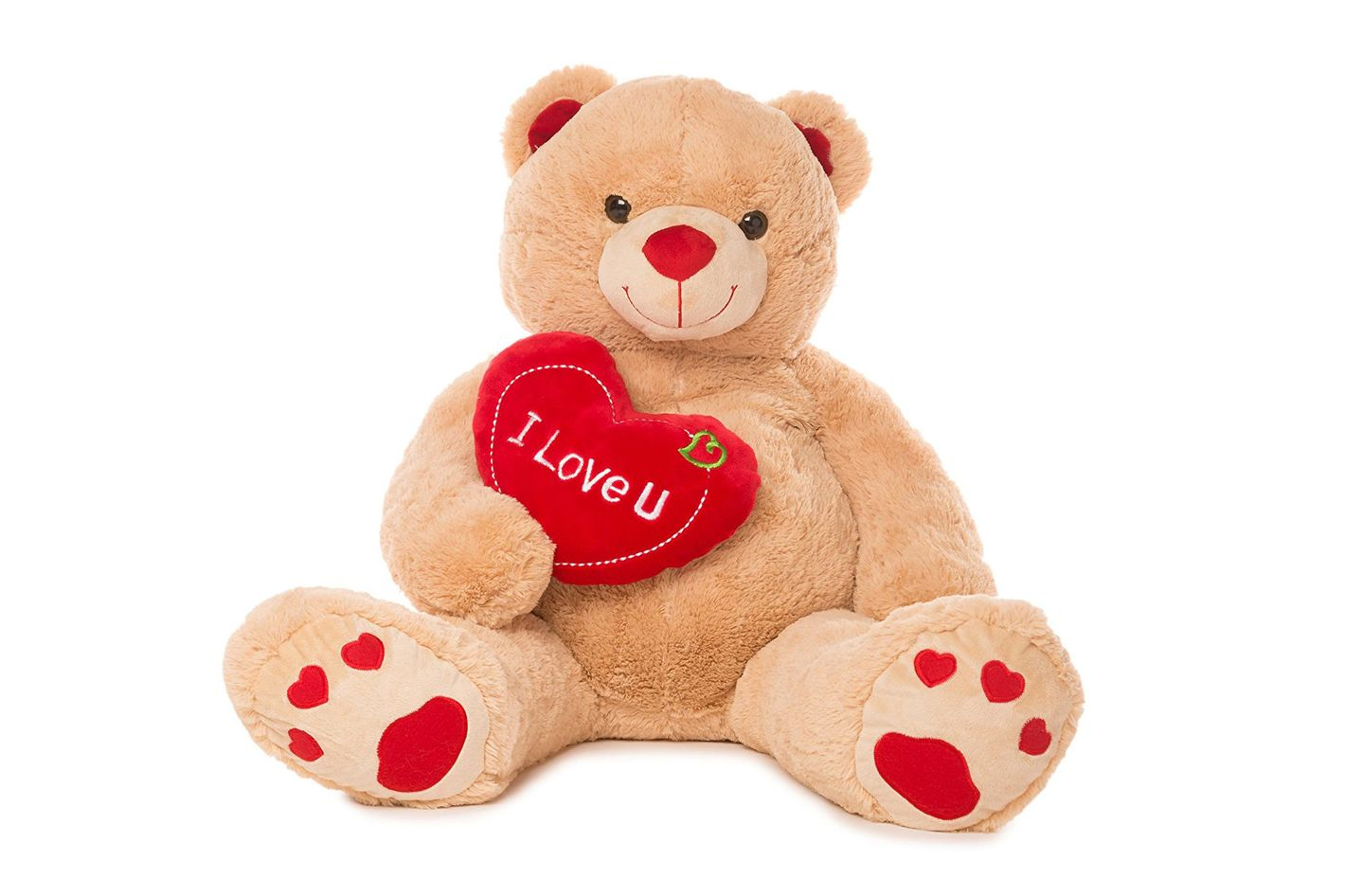 "Jumbo 48"" Teddy Bear With Heart"