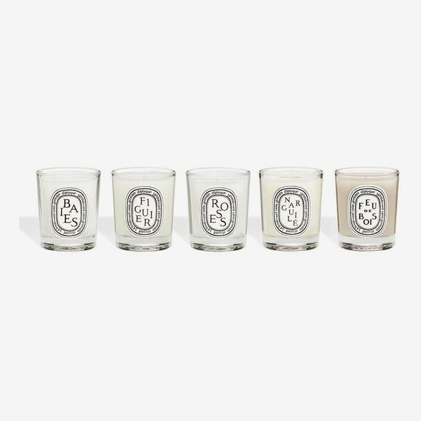 Diptyque Set of 5 Travel-Size Candles