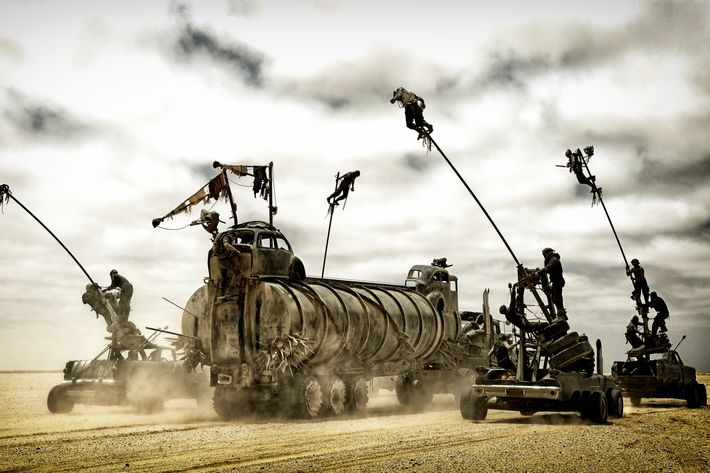 Mad Max's Production Designer on How He Made All Those