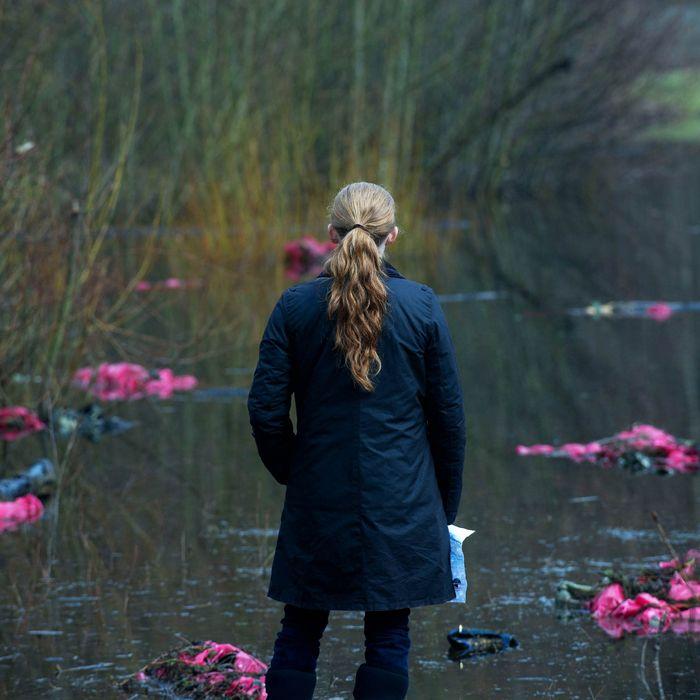 Sarah Linden (Mireille Enos) - The Killing _ Season 3, Episode 3 - Photo Credit: Carole Segal/AMC