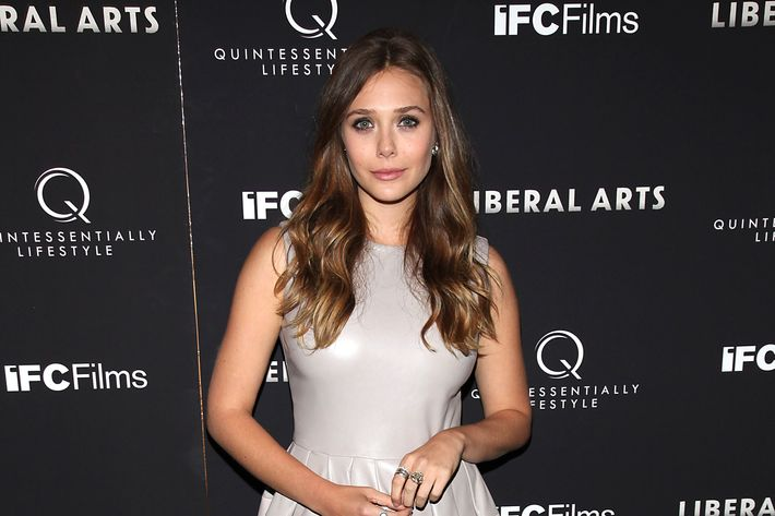 Olsen at last night's premiere.