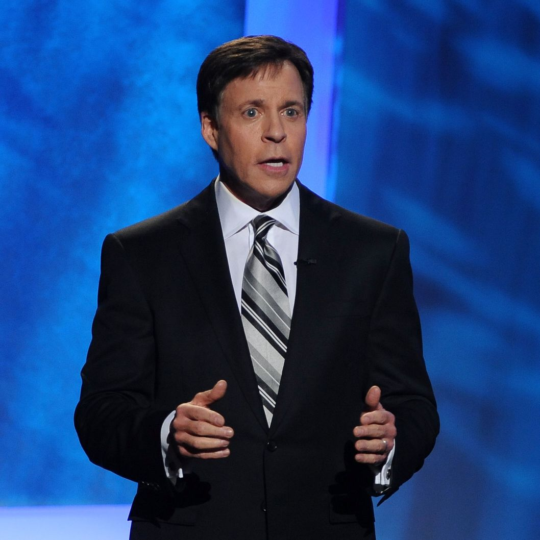 LOS ANGELES, CA - DECEMBER 09:  Host Bob Costas onstage at the American Giving Awards presented by Chase held at the Dorothy Chandler Pavilion on December 9, 2011 in Los Angeles, California.  (Photo by Mark Davis/Getty Images for American Giving Awards)