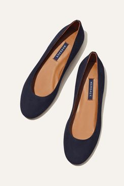 Margaux the Classic Black Flat