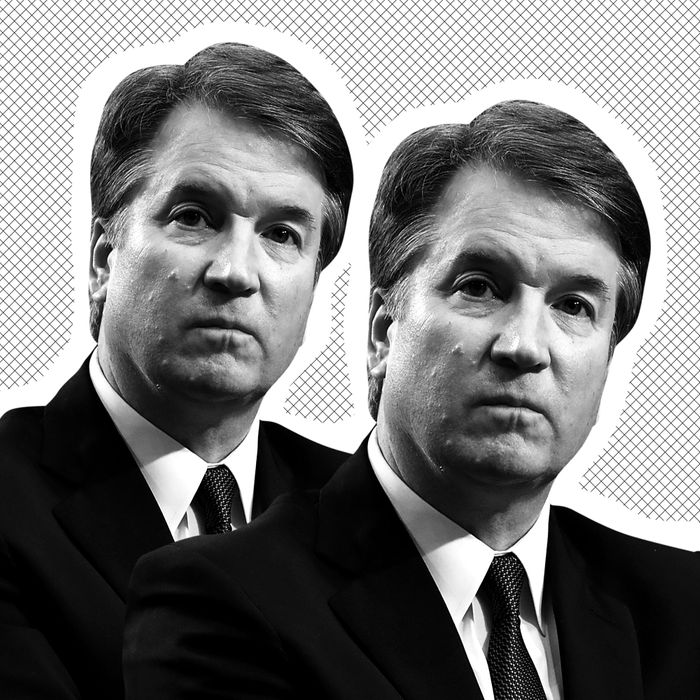 Two Brett Kavanaughs.