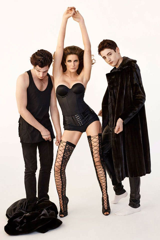 stephanie seymour and sons are being weird again