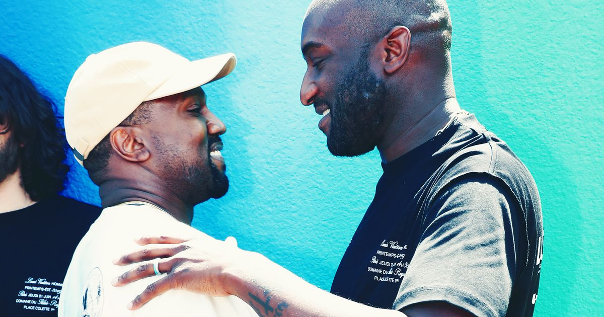 af3bf3fb9 Virgil Abloh and Kanye West s Hug Was a Great Fashion Moment