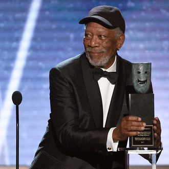 Morgan Freeman Calls Out SAG for 'Gender Specific' Statues